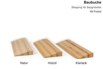 Türschwellenrampen aus Holz - Baubuche