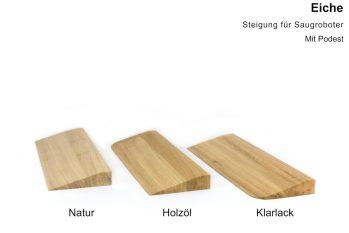 Türschwellenrampen aus Holz - Eiche
