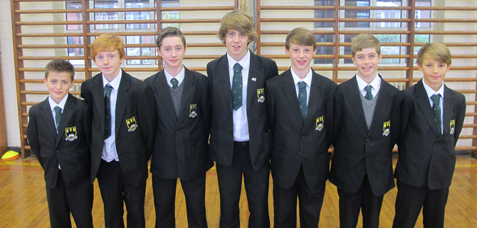 Junior Boys finish 13th in National Cross Country Final