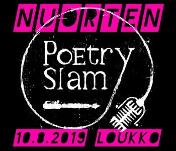 Nuorten poetry slam, 10.8.2019 Loukossa