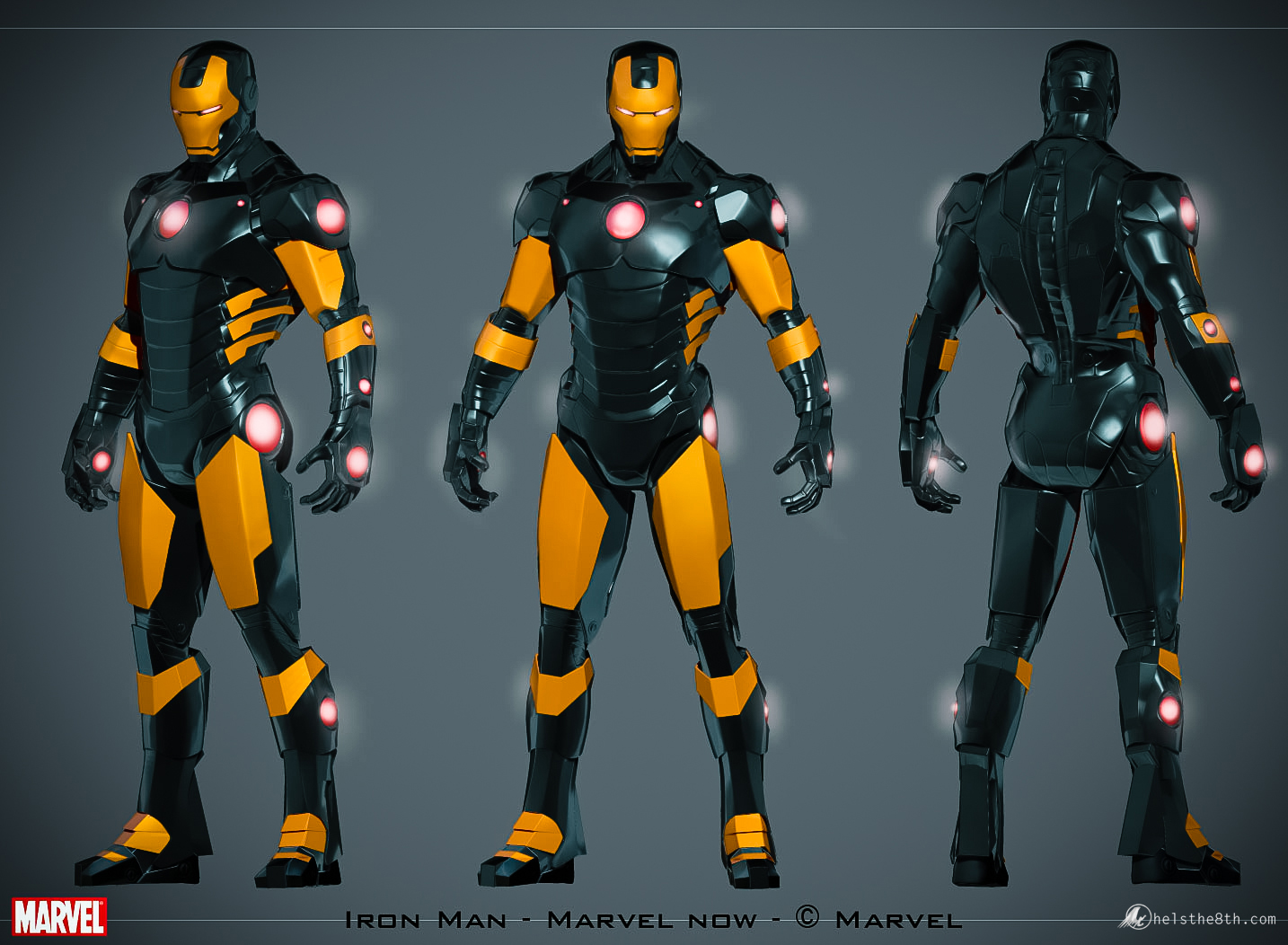 Iron Man  Marvel Now statue  Hels the 8th