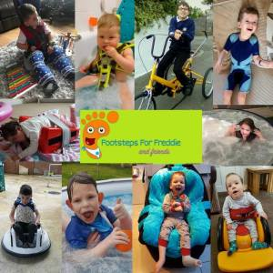 Footsteps for Freddie and Friends Cornwall