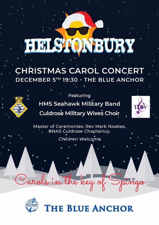 Helstonbury Christmas Carol Concert