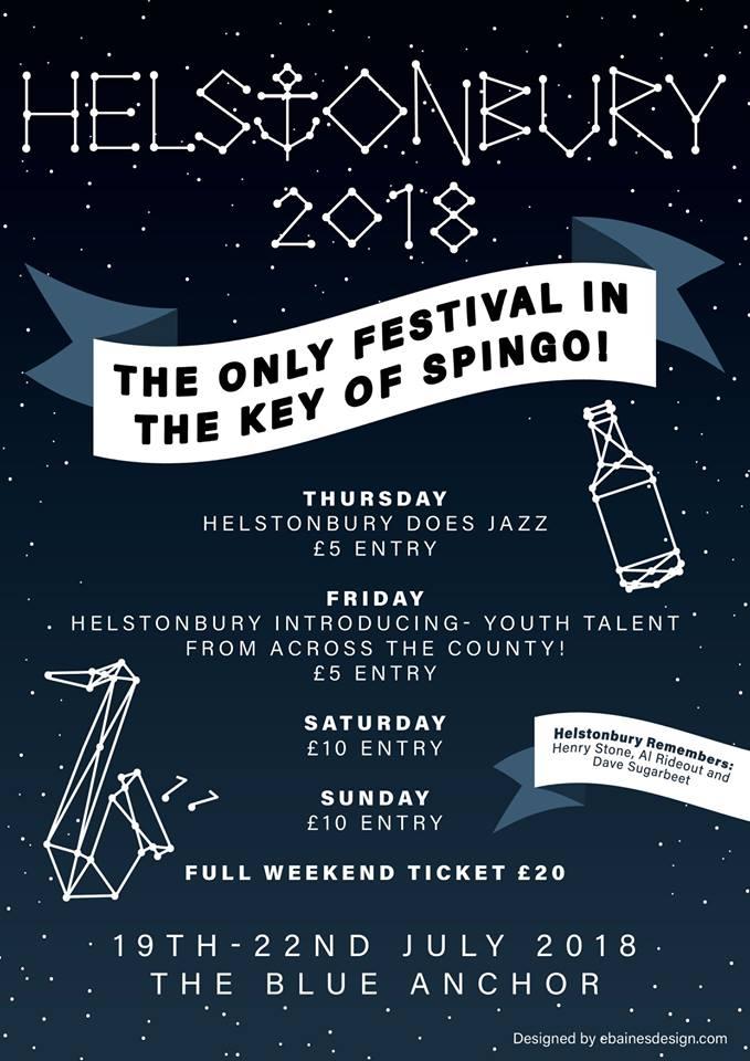 Helstonbury 2018 Poster