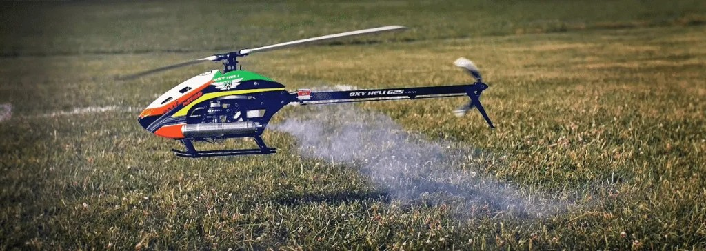 nitroxy 5, Nitroxy 5  First Nitro helicopter from Oxy Heli – Available NOW