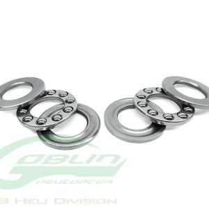 ABEC-5 Thrust bearing 08 x 014 x 4 x 2pcs HC437-S