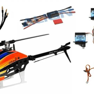 RC Helicopter Align T-rex Sab Goblin Xlpower Soxos Oxy