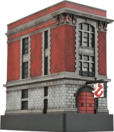 Ghostbusters-Light-Up-Firehouse-17cm-Resin-Statue-Import-allemand-0