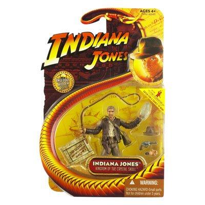 Hasbro-4007040604-Indiana-Jones-et-le-Royaume-du-crne-de-cristal-3-34-Figurine-10cm-Indiana-Jones-avec-crne-de-cristal-et-main-supplmentaire-0