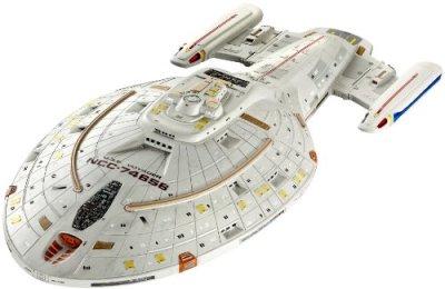 Revell-4801-Maquette-Classique–Peindre-et–Coller-USS-Voyager-Star-Trek-0