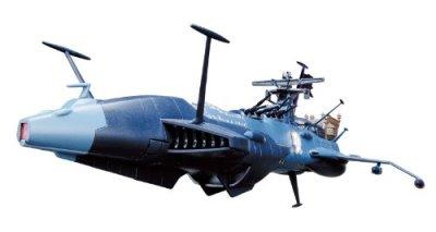 Aoshima-Figurine-Albator-ALBATOR-Arcadia-Die-Cast-version-TV-bleu-4905083083185-0