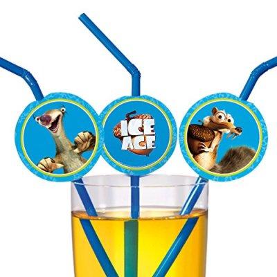 SUSY-CARD-Paille-Ice-Age-souple-en-plastique-0