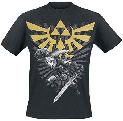 Nintendo-Homme-Zelda-courtes-manches-0