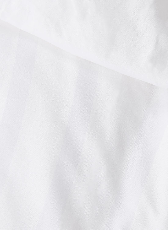 dekbedovertrek  hotel katoen satijn  240 x 220 cm  wit