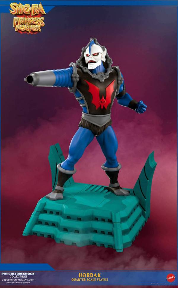 Pcs Hordak 1 4 Statue - Unboxing Video -man World