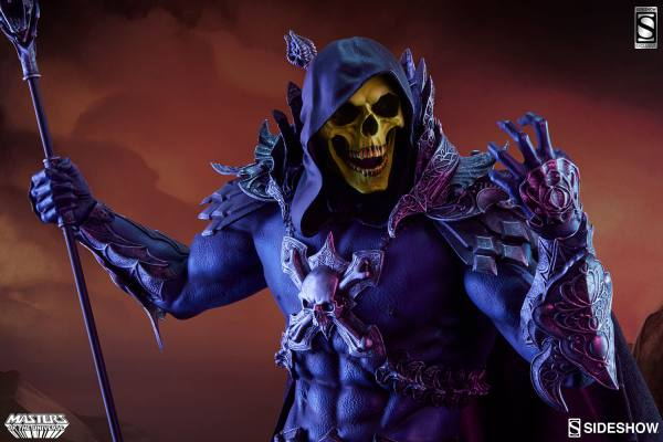 Of Skeletor Statue Sideshow - -man World