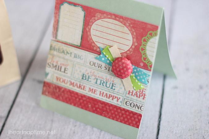 hemelsblauw blog washi tape kaart versieren