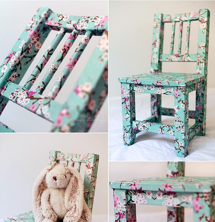 Mod Podge stoel