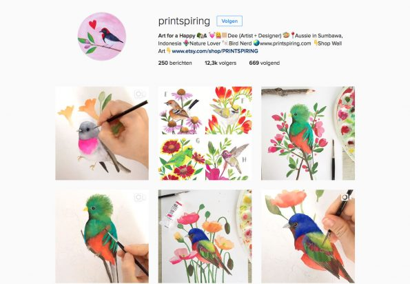 Instagram Printspiring