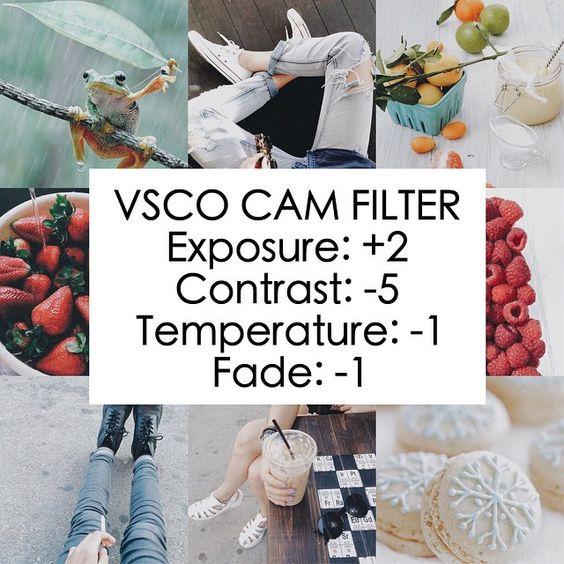 VSCO blogtip hemelsblauw