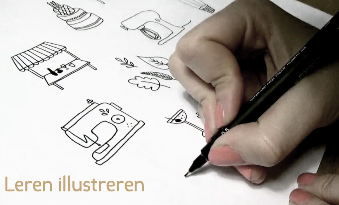 illustreren hemelsblauw tutorial