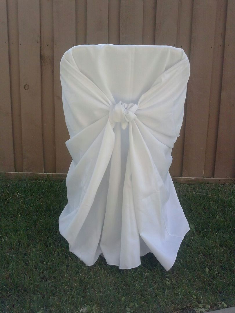 chair covers and bows ebay 8 table set hemet party rental linens more