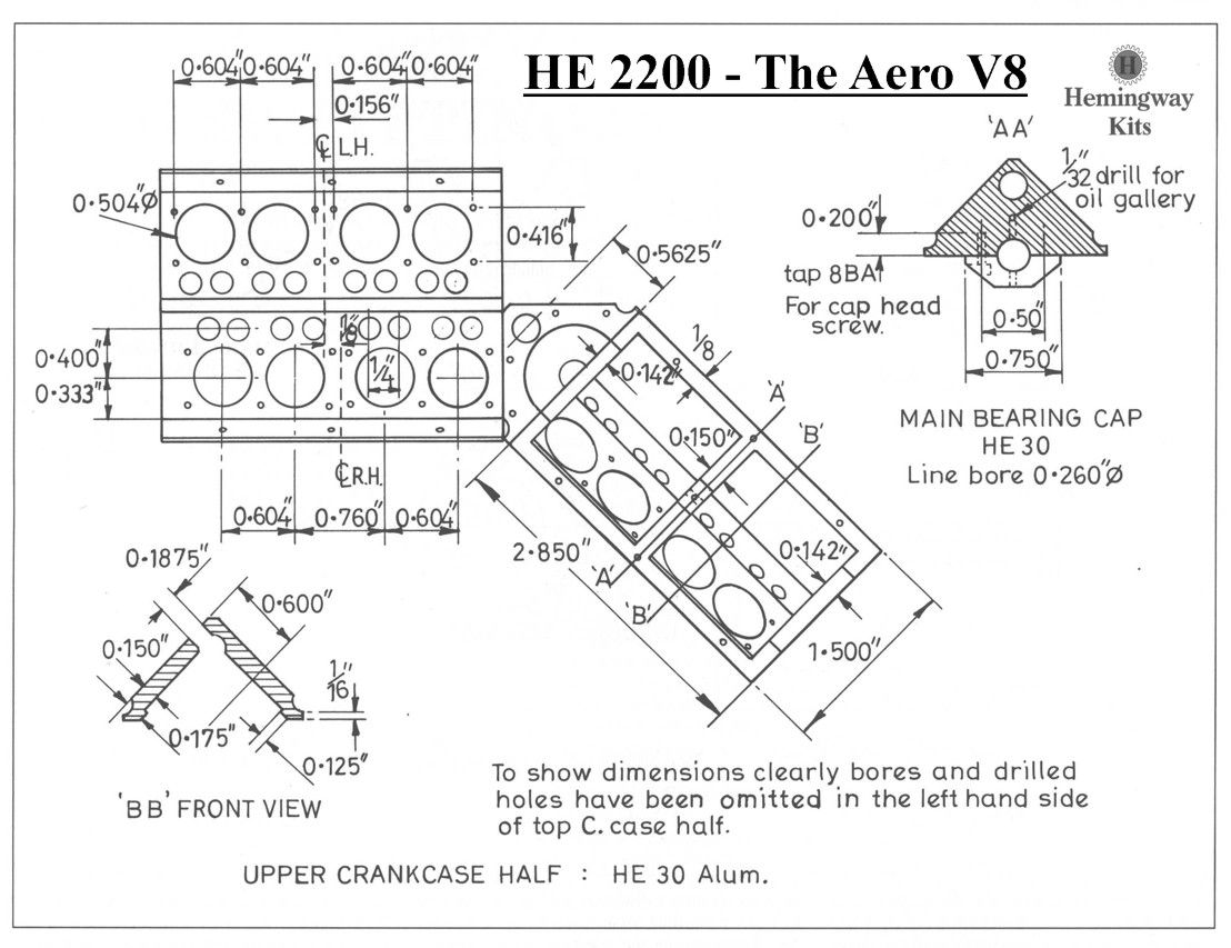 V8 Engine Cad