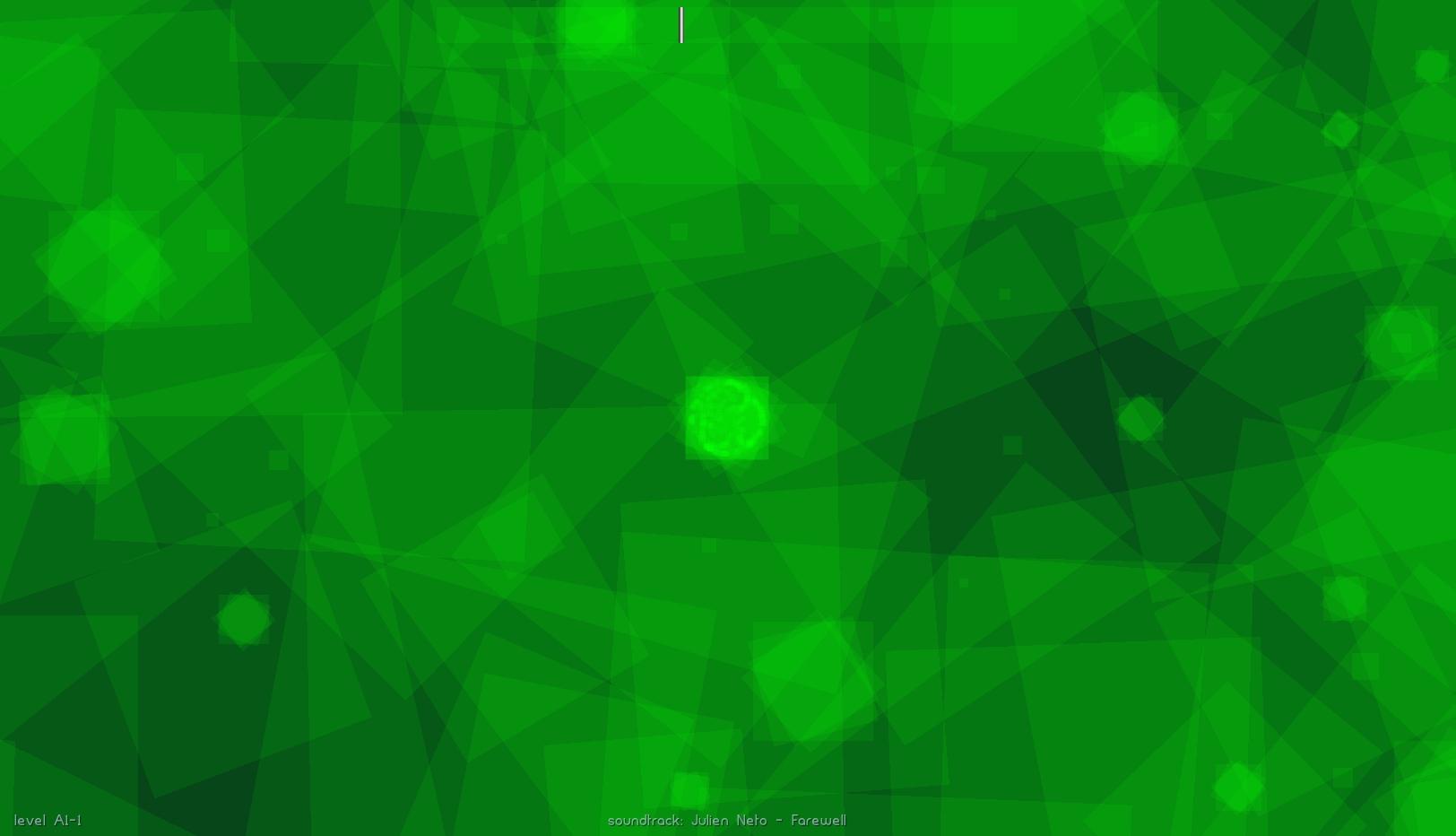 Debug view of overlapping stars