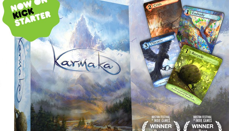 Karmaka — LIVE on Kickstarter Now!!