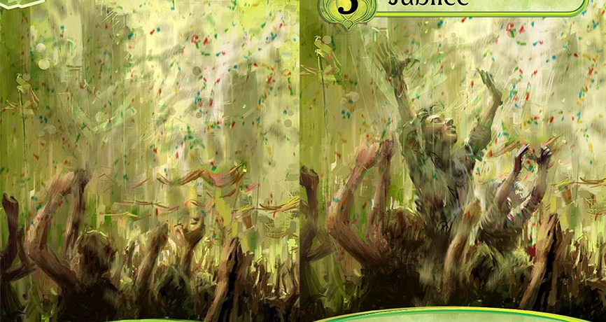 Karmaka's Art Lived Multiple Lives: Part 1, The Cards