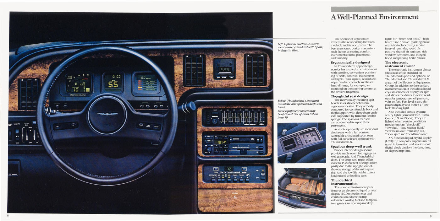 hight resolution of class of 87 ford thunderbird turbo coupe