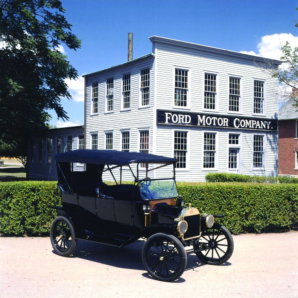 medium resolution of in 2003 ford actually built six all new model t 100s these cars replicated the 1914 originals exactly in honor of the company s centennial
