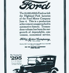 june 1924 ad celebrated a production milestone about 1 000 model t  [ 900 x 1558 Pixel ]