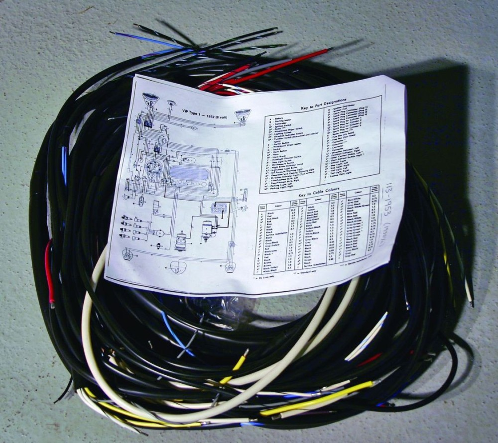 medium resolution of take the time to carefully inspect the car s wiring system in our volkswagen the bulk of the wires were readily visible in the luggage compartment