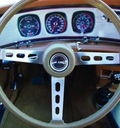 bucket seats were standard issue on the 1971 74 javelin but the machine turned dash and door overlays were amx specific racy rally pac instruments added  [ 1000 x 799 Pixel ]