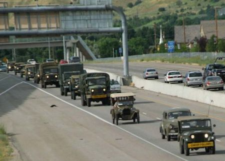 Pair of convoys to celebrate centennial of trip that led to the Eisenhower Interstate System