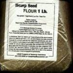 Hemp Seed Flour. One pound package.