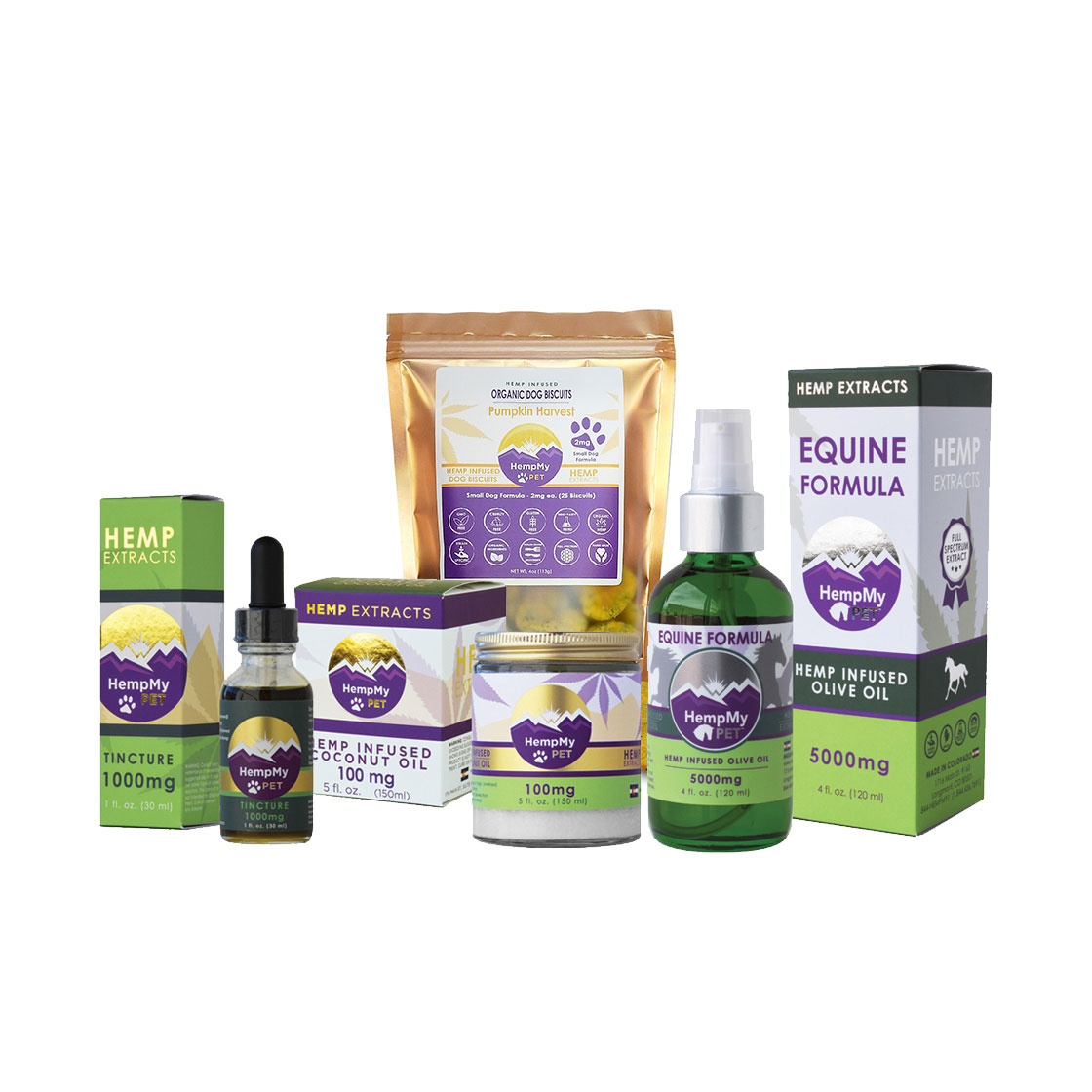 HempMy Pet CBG Oils for Pets