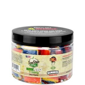 Gummy Sour Packs 1150MG CBD