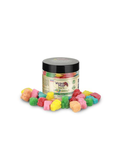 One of the classic images that come to mind when we picture candy, the Gummy Bear is a staple for any and all stores that carry sweets. CBD provides the added health boost many are looking to achieve