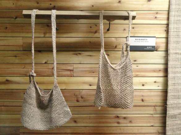 hemp rope bags
