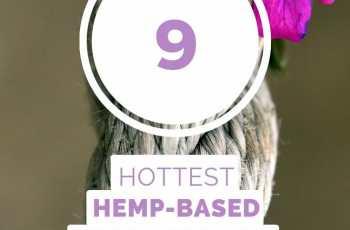 9 hottest hemp based products