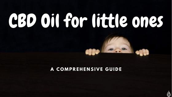 cbd for little ones title