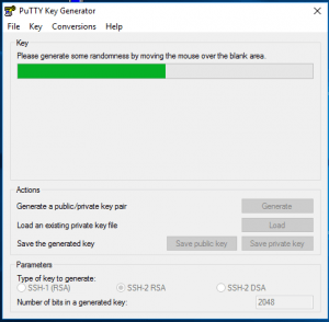 PuttyKeyGenGenerate