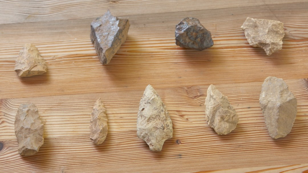 Spearheads, Arrowheads, Meteorites from our Charmed Farm