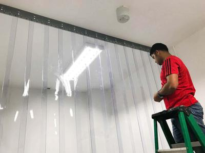 Hemsco S Pte Ltd  UNiPVC Strip Curtain  Industrial
