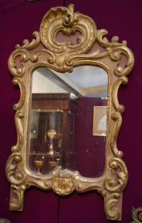 Decorative Gilt Wood Wall Mirror - Antique Mirrors ...
