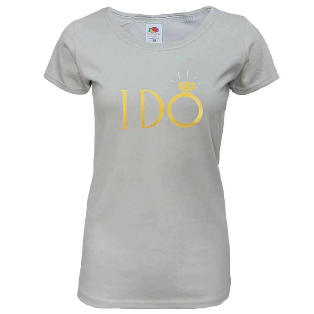 JGA BrautShirt I Do  Lila  online kaufen
