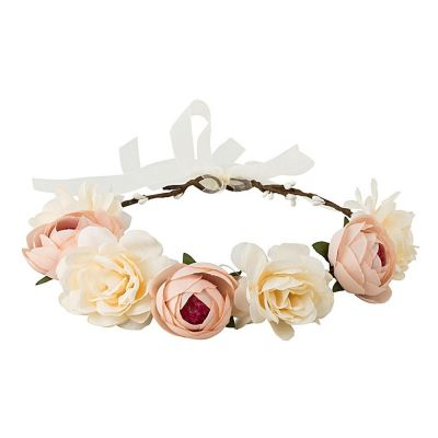 Blumenkranz  Beige  Kopfschmuck online kaufen