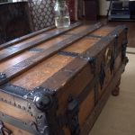 Trunk coffee table